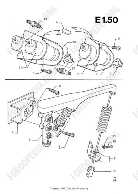 ford transit mkiii 1985 1991 parts list e1 50 brake system valves fordopedia org