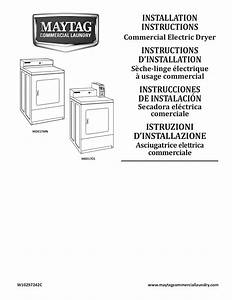 Download Free Pdf For Maytag Mde17mn Dryer Manual