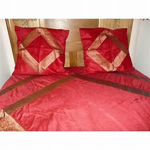 Couvre Lit Velours : couvre lit en velours et brocard ~ Teatrodelosmanantiales.com Idées de Décoration
