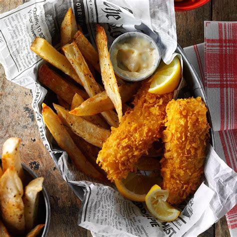 fish fries fryer air recipe chips recipes taste airfryer evans bob copycat menu tasteofhome