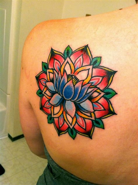 155+ Trendy Lotus Flower Tattoos That You Don't Want to Miss
