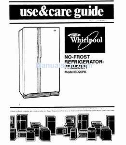 Whirlpool Ed20pk Use  U0026 Care Manual Pdf Download
