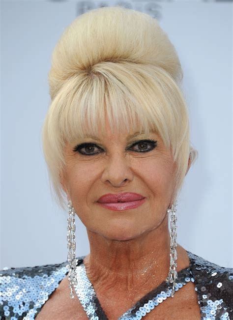 ivana trump amfar 64th gala arrivals zimbio carpet annual