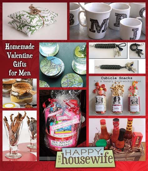fourteen homemade gifts  men  happy housewife home management