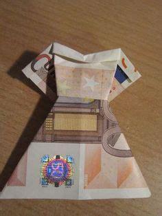 geldschein falten kleid brautkleid zum geldgeschenke basteln zur hochzeit origami mit geld