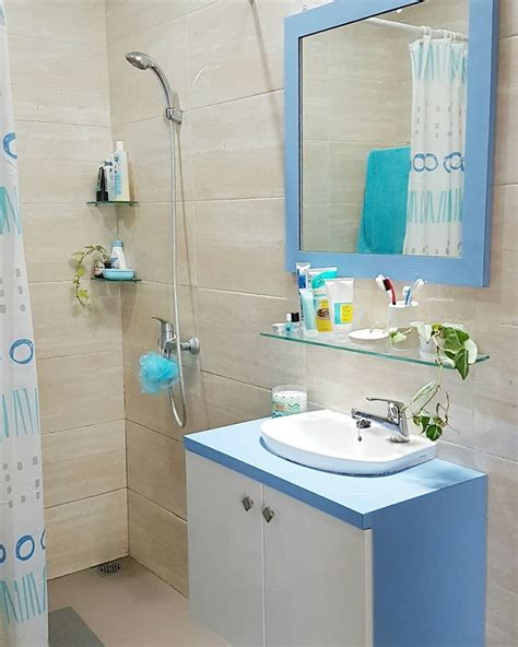 dekorasi kamar mandi minimalis makin unik cantik