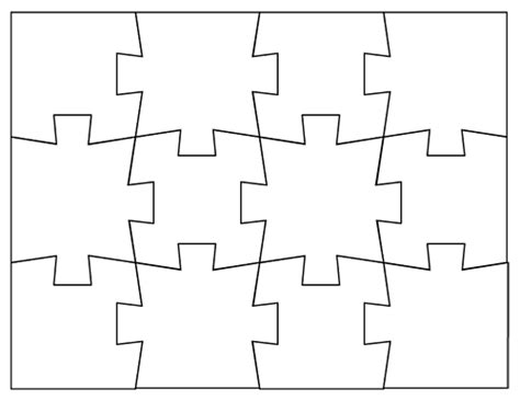 blank puzzles  print   sizes
