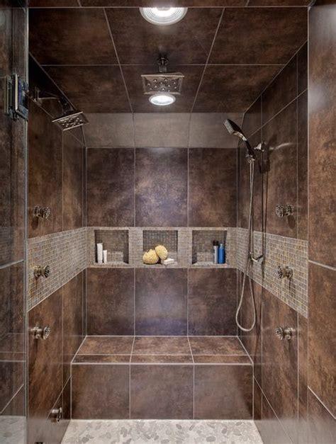 Luxury Walk In Showers by Luxury Master Bath Walk In Shower I Like The Double Head