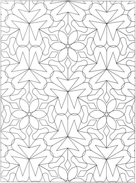 geometric coloring books creative geometric allover patterns coloring book