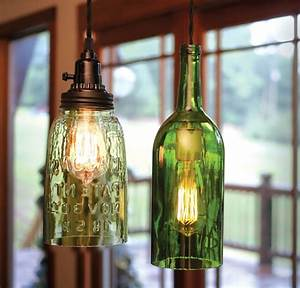 Wine bottle hanging lamp kits national artcraft with