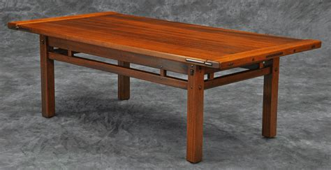 wood working idea greene  greene coffee table plans