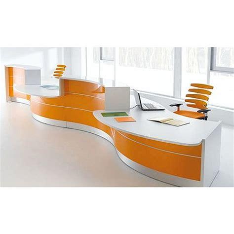curved reception desks valde curved high gloss illuminated reception desk modern