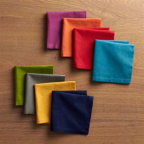 spectra cloth cocktail napkins set   reviews crate