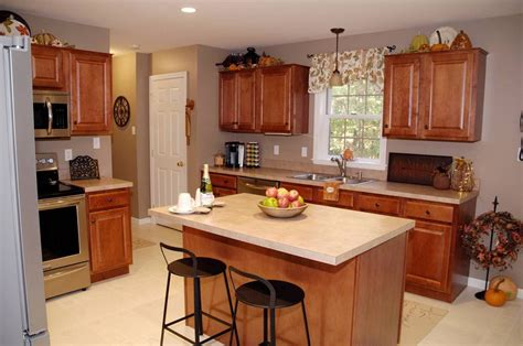 budget kitchen cabinets fall kitchen decor living rich on lessliving rich on 1845
