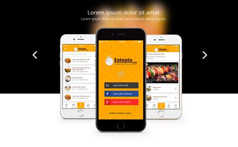In Mobile by Responsive Mobile App Landing Page Template