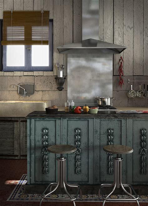 cuisine recup caustic corner cuisine de récup