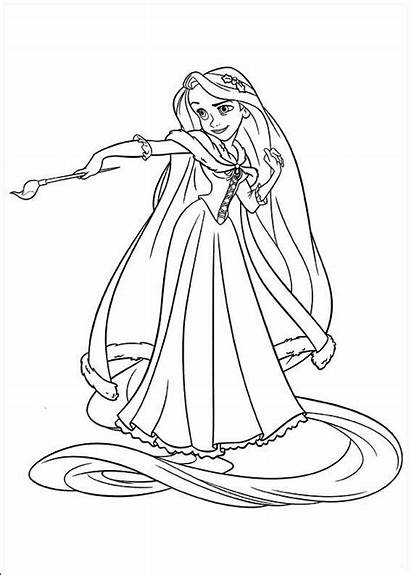 Tangled Coloring Fun Pages