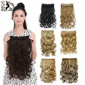 50 Colors Curly Clip In Hair Extension Women Natural
