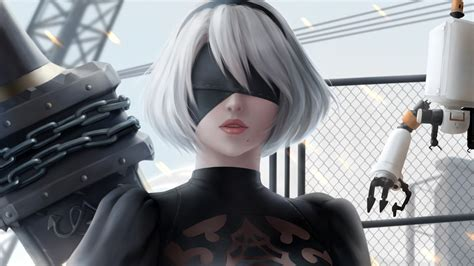 nier automata  wallpapers hd wallpapers id