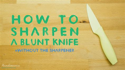 sharpen  kitchen knife   sharpener tips hacks youtube