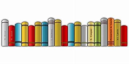 Books Shelf Clipart Pixabay Library Bookshelf Line