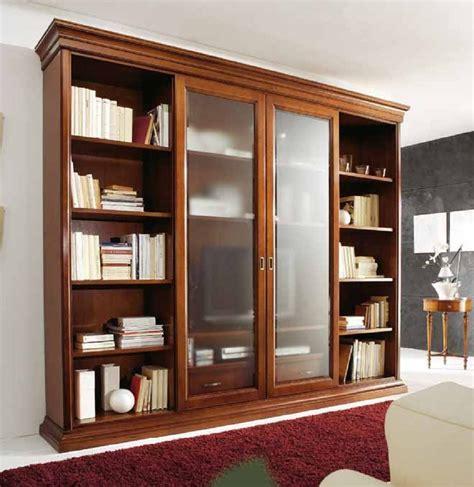 libreria con porta trendy libreria con ante scorrevoli lo with libreria con