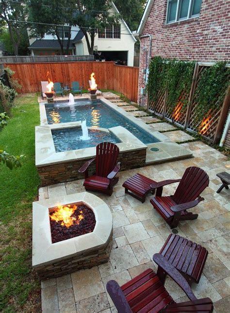 ideas  small backyard pools  pinterest