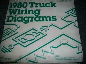 1980 Ford F600 F700 F800 Cab Trucks Wiring Diagrams