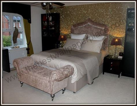 Bedroom Wallpaper Range by Master Bedroom With Sand Glitter Wallpaper View Our 70