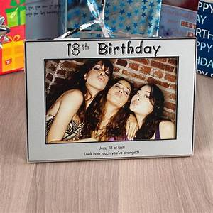 Personalised '18th Birthday' Silver Photo Frame | Engraved ...