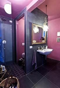 33, Cool, Purple, Bathroom, Design, Ideas