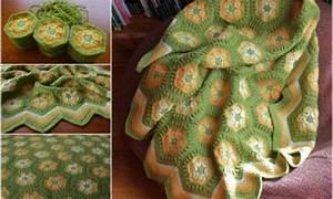 Hexagon  U2013 African Crochet Flower