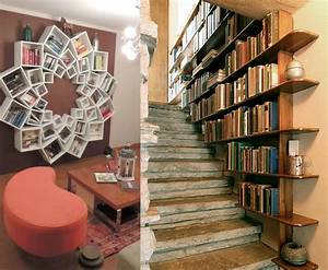 How, To, Build, A, Cool, Diy, Bookcase, Out, Of, Upcycled, Materials