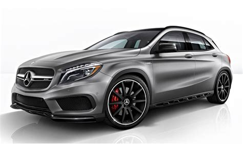 The Mercedes-amg® Gla 45 Offers Spectacular Performance