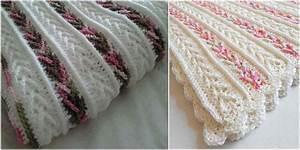 Crochet Afghan with Arrow Stitch [Free Pattern] DIY