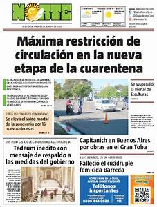 Peri U00f3dico Diario Norte  Argentina   Peri U00f3dicos De Argentina  Edici U00f3n De Mi U00e9rcoles  27 De Mayo De