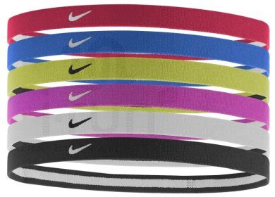 nike elastiques hairbands  rouge pas cher