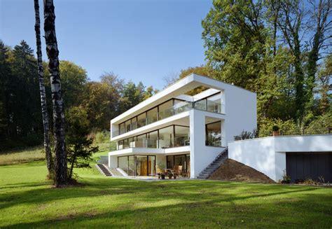 Moderne Häuser Hanglage by Haus Grundriss Hanglage Garten Wohn Design