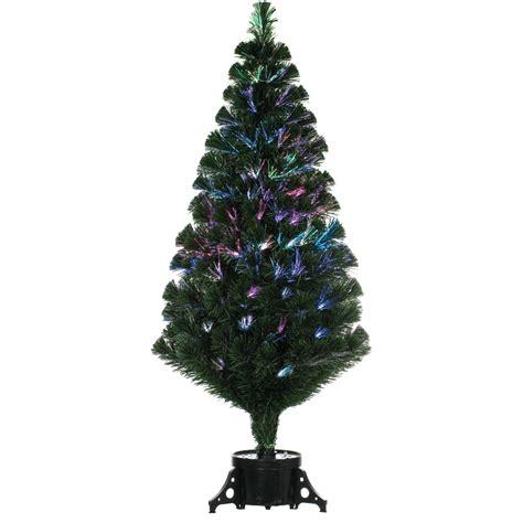 remote control green 120cm 4ft fibre optic christmas tree 163 61 74 garden4less uk shop