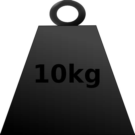 weight clipart png 10 kg weight clip at clker vector clip