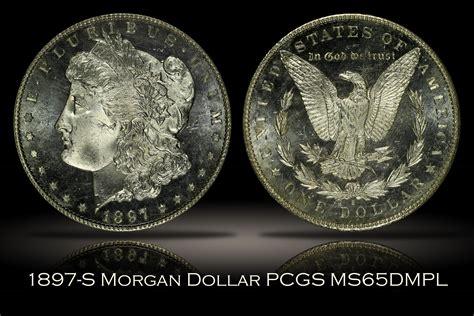 1897-s Morgan Dollar Pcgs Ms65dmpl