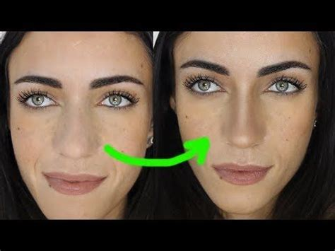 nose  smaller makeupandartfreak youtube nose contouring