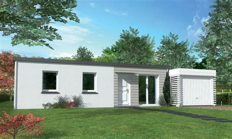 Maison Contemporaine Plain-pied Bora T4