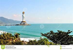 The Goddess Of Mercy In The South China Sea Stock Image ...