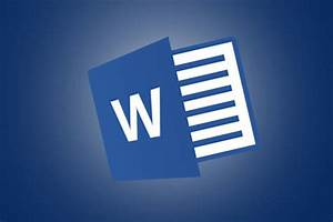In Microsoft Word