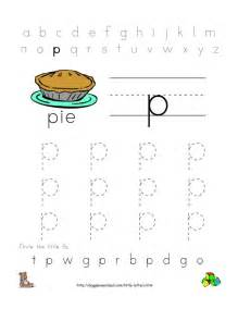 Free Printable Preschool Alphabet Letter Worksheets