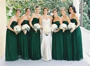 emerald wedding dress emerald green bridesmaid dress