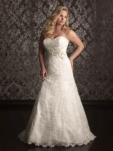 plus size vintage lace wedding dresses ipunya With lace plus size wedding dress