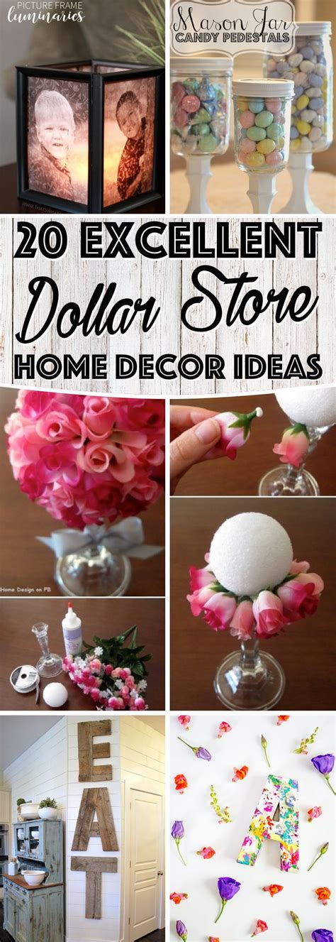 20 Excellent Dollar Store Home Decor Ideas To Enhance The