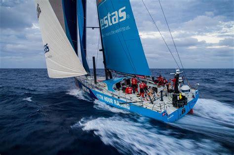 volvo ocean race turns   game  blind mans bluff